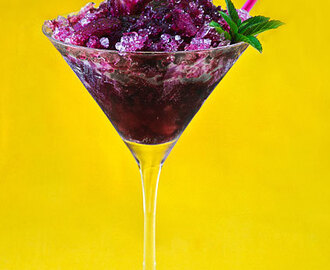 Summer Drink Recipes: The Blueberry Mojito Adult Snow Cone