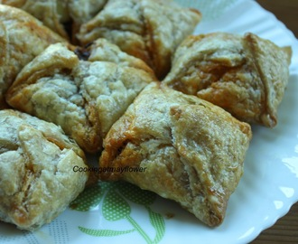 Egg puffs/Mutta puffs/Eggs wrapped inside puff pastry