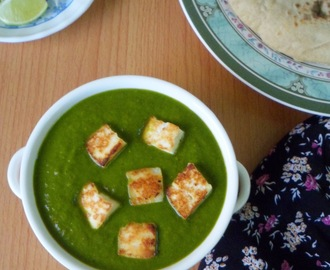 How to make Palak paneer from scratch | Spinach cooked with cottage cheese and indian spices|Restaurant style palak paneer from scratch