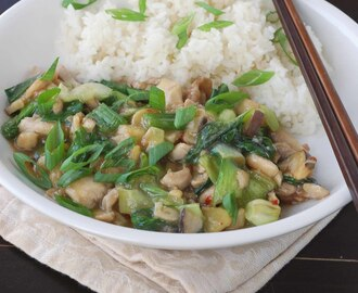 Guest Post : Yudith from Blissfully Delicious featuring Oyster Sauce Chicken with Bok-Choy