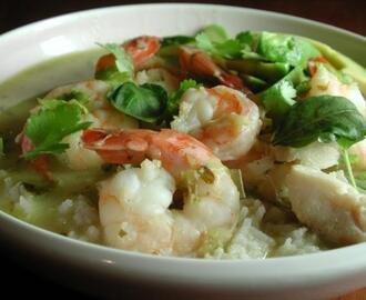 Green Curry With Shrimp and Fish (Kaeng Khiao)