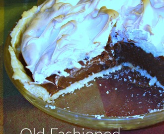 Old Fashioned Chocolate Meringue Pie {Granny's Recipe}