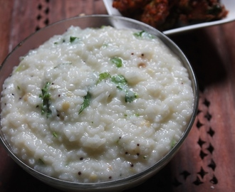 Simple Curd Rice Recipe - Yogurt Rice Recipe - Thayir Sadam Recipe