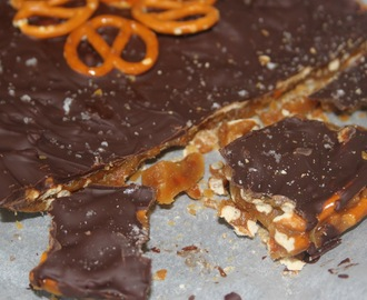 Chocolate Covered Pretzel Toffee