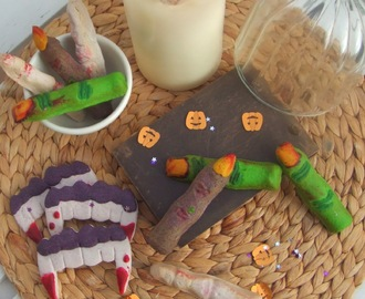 Galletas para Halloween: brujas, zombies, vampiros...