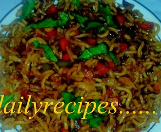 चाइनीज़ भेल बनाने की विधि - how to make chinese bhel - chinese bhel recipe - chinese bhel recipe in hindi