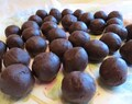 2 Ingredientes: Trufas de chocolate