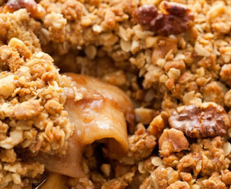 Apple Crisp Just Got Even Better And Even Easier!