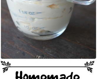 Homemade Mayonnaise!!!