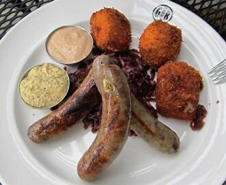 Gordon Biersch Beer Braised Sausages