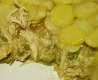 Pressure Cooker Chicken Potato Bake