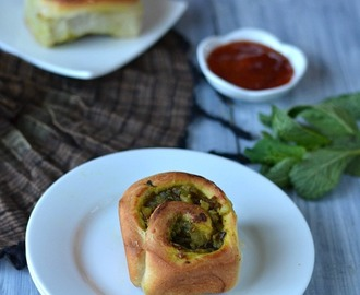 Savory Roll/Potato stuffed Roll/Potato Stuffed Pinwheel