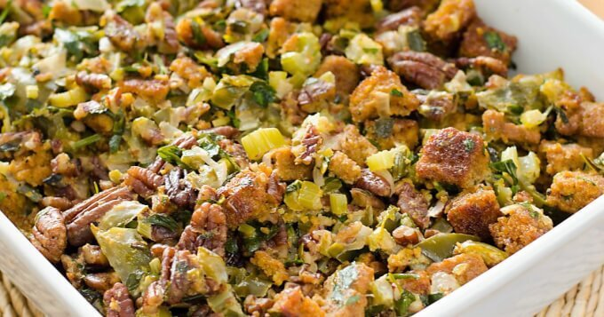 Paleo Cornbread Dressing Recipe
