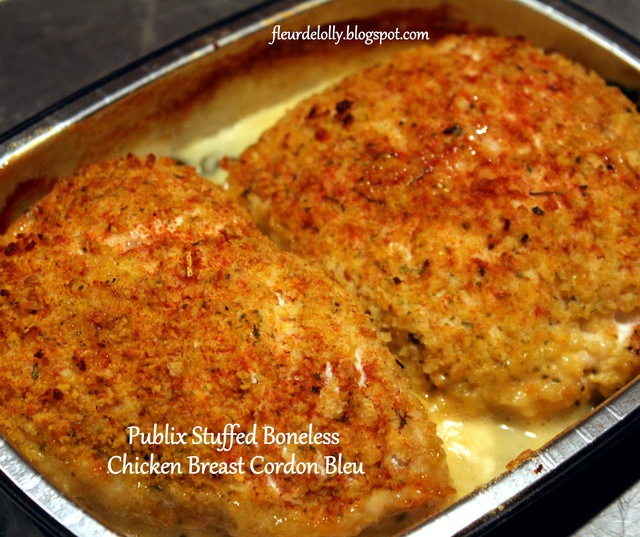 Publix Boneless Stuffed Chicken Breasts Cordon Bleu