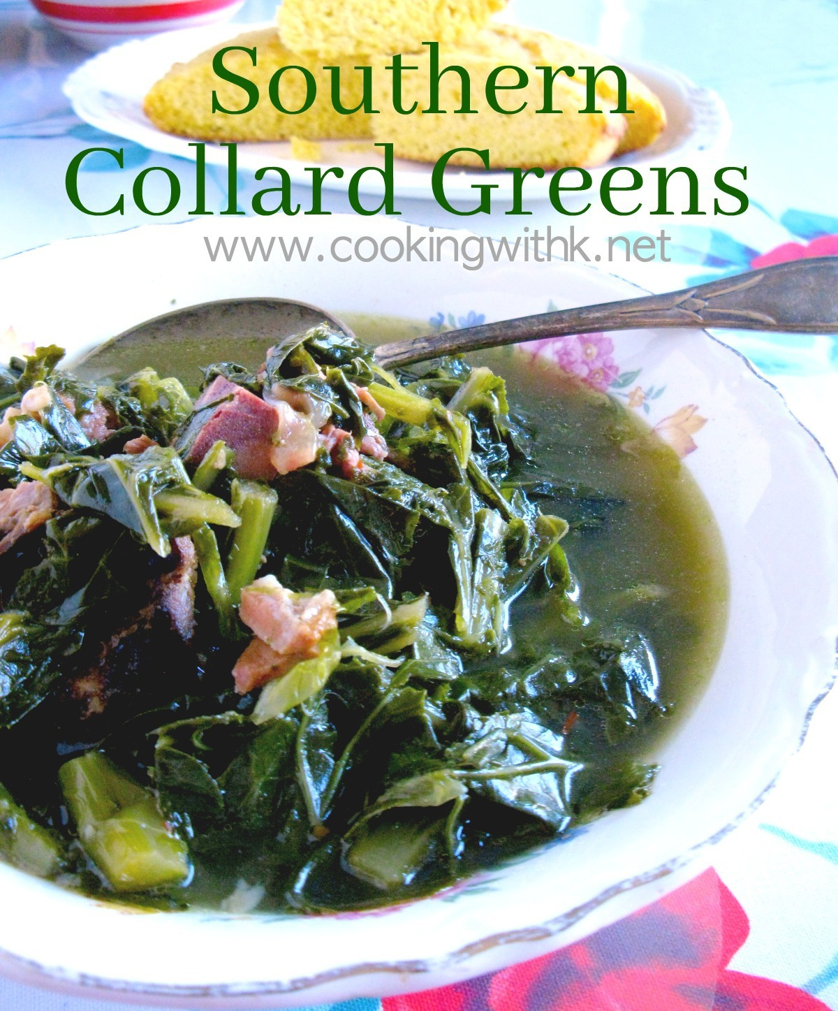 Southern Style Collard Greens {Granny's Recipe}