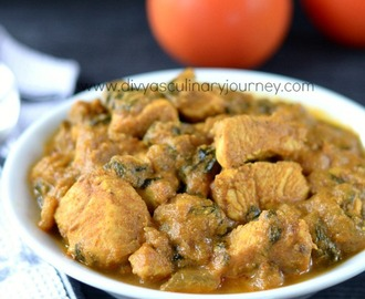 Methi Chicken | Methi Murgh