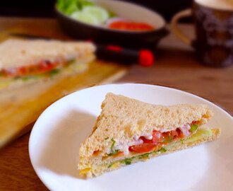 Vegetable Sandwich|how to make vegetable sandwich