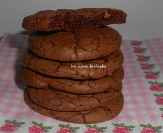 Galletas de chocolate negro