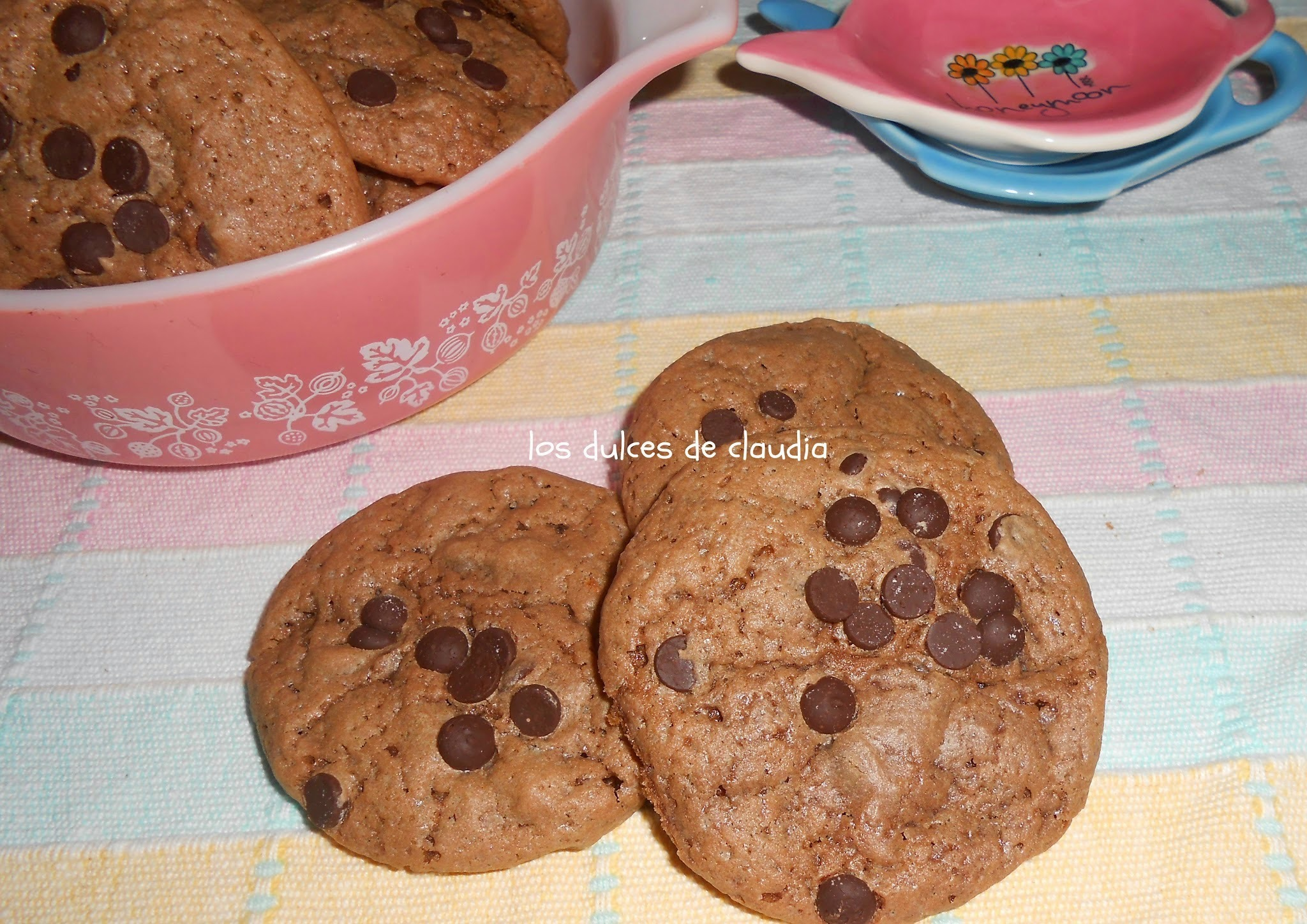Galletas de chocolate con chips