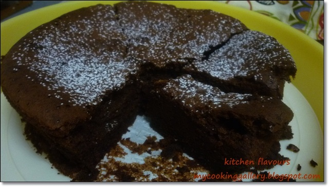 Chocolate Almond Torte : Free And Easy Bake-Along #4