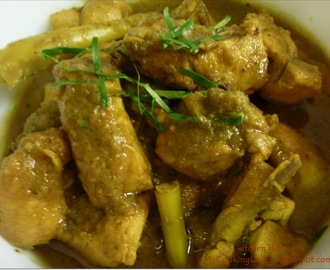 Chicken and Lemon Grass Curry