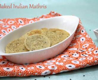 Baked Mathris | How to make Low Cal Baked Mathris