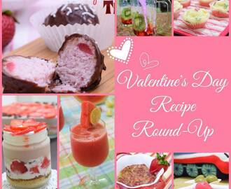 Valentine's Day Recipe Round Up