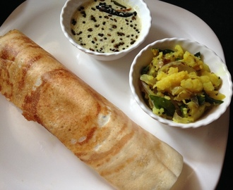 Masala Dosa Recipe South Indian, How To Make Masala Dosa