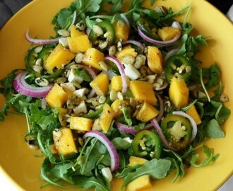 Arugula and Mango Salad