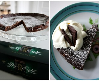 After Eight kladdkaka