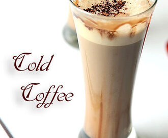 Cold Coffee Recipe – How To Make Cold Coffee Without Icecream