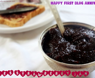HOME MADE DATES STRAWBERRY JAM