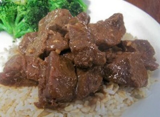 Crock Pot Teriyaki Steak