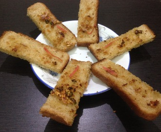 Instant garlic bread sticks