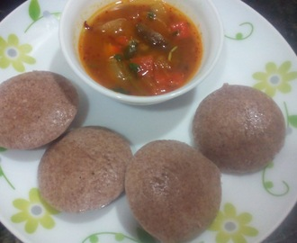 Ragi Idli Recipe |Soft finger millet idli| How to make Ragi Idli