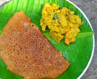 Adai Aviyal Recipe - Adai Avial Recipe - South Indian Adai with Aviyal Recipe