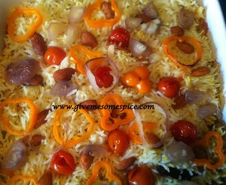 Biryani: Hot spicy and colourful