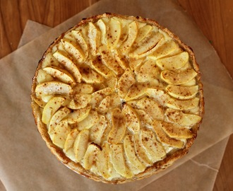 Peeta's Goat Cheese and Apple Tart