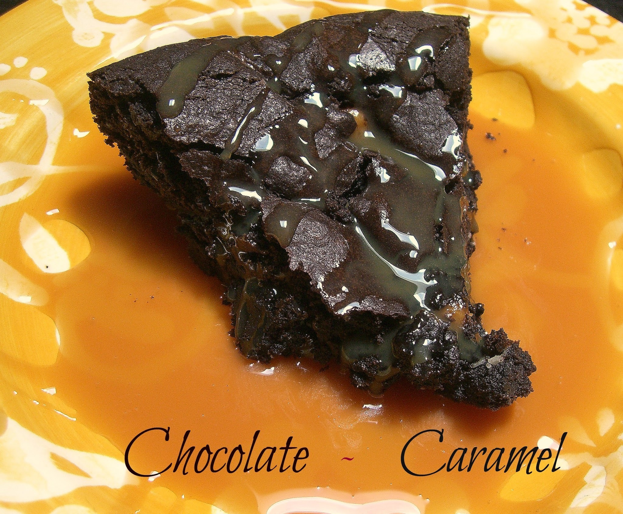 ~Chewy Chocolate Caramel Brownies~