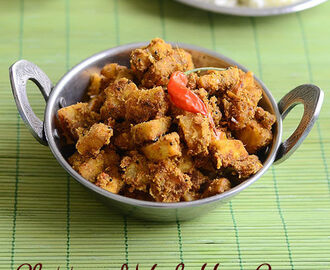 Vazhakkai Curry – Chettinad Raw Banana Fry Recipe
