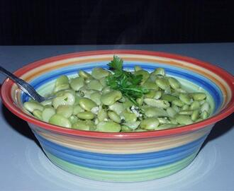 Greek Style Lima Beans
