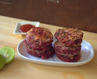 Beetroot Cutlet | Beetroot Tikki | Healthy Cutlet