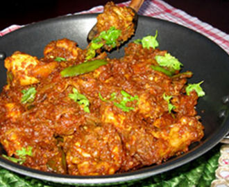 KADHAI CHICKEN Traditional Cooked