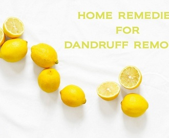 How to remove Dandruff from hair permanently at home fast With Home Remedies