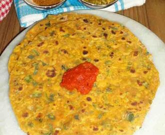 spring onion veg paratha recipe, spring onion recipes