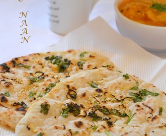 How to make Garlic Naan ( yeast free ) / Step by Step Recipe: