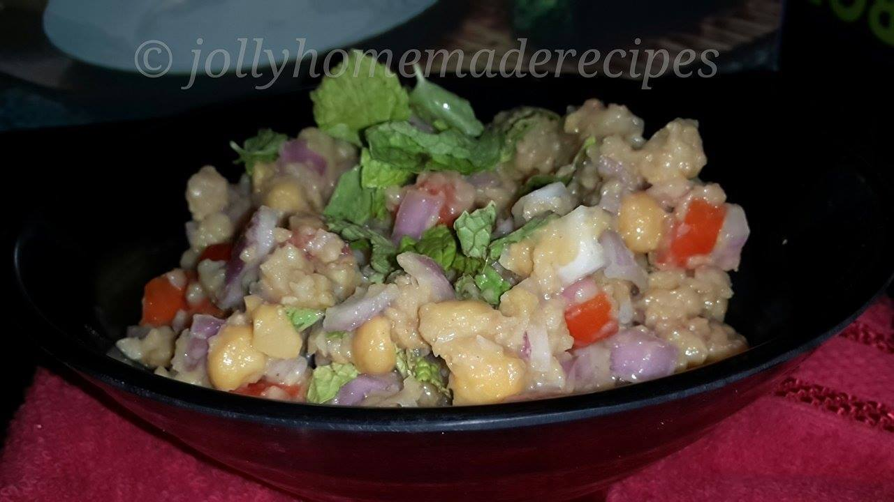 Healthy Chickpeas Salad Recipe | Salad Recipes