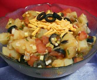 Hot Mexican Potato Salad