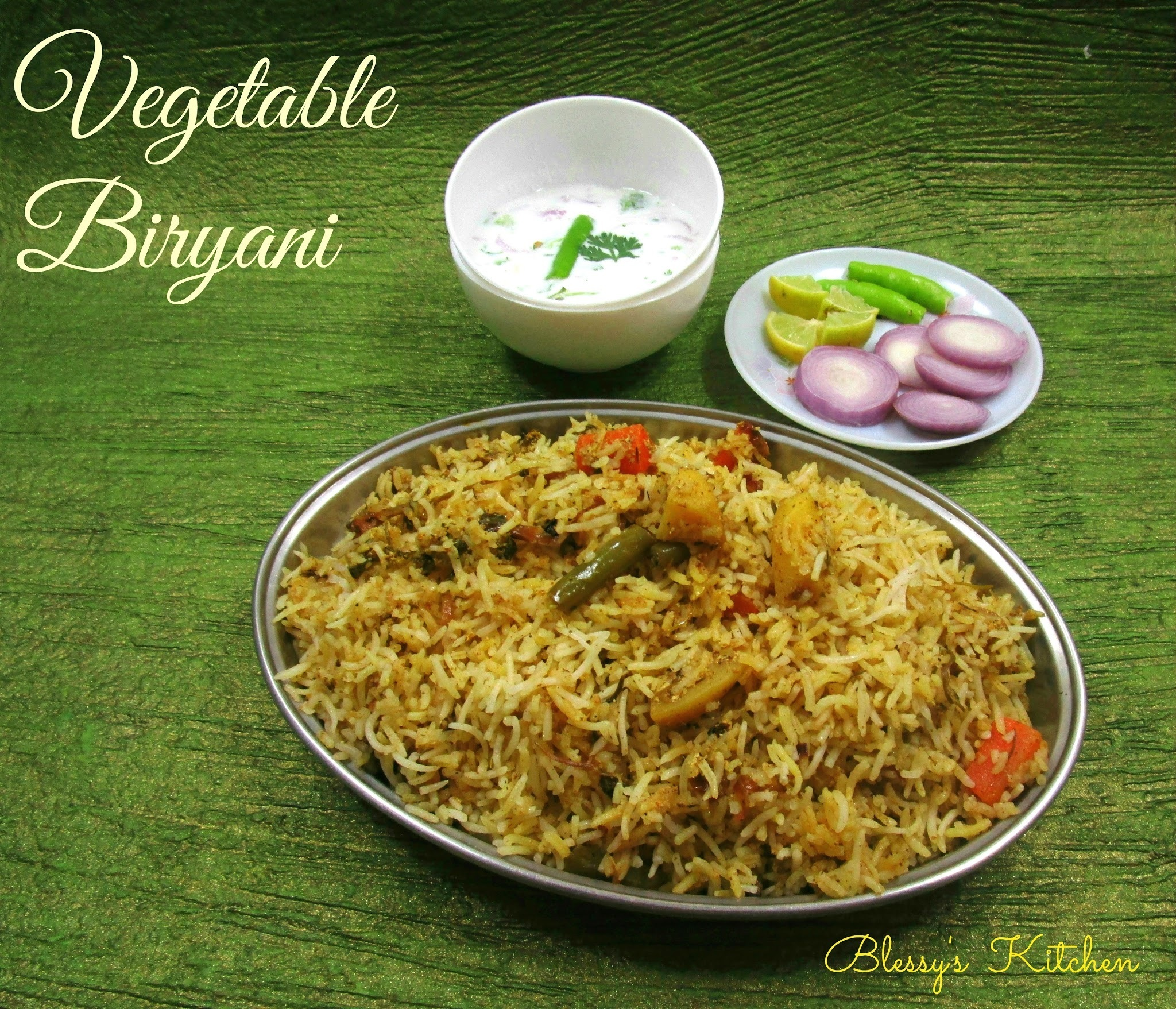 Vegetable Biryani/Veg Biryani - The Hyderabadi Way