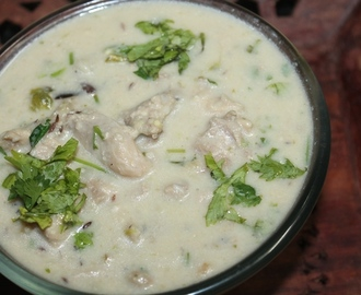 White Chicken Stew Recipe - Chicken Sodhi Recipe